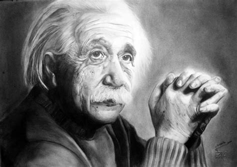 biography sketch of albert einstein albert einstein pencil on paper diego fazio