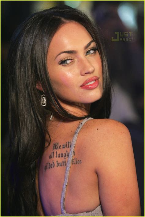 megan fox tattoos image collection megan fox s of the quote