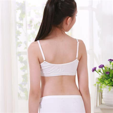 Asn8 Bra Sport 8746 cotton vest vest development bra bra children s sports bras children