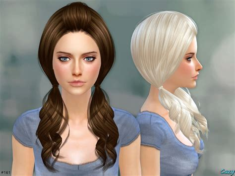 download hair and clothes for sims 4 cazy s ellie hairstyle set