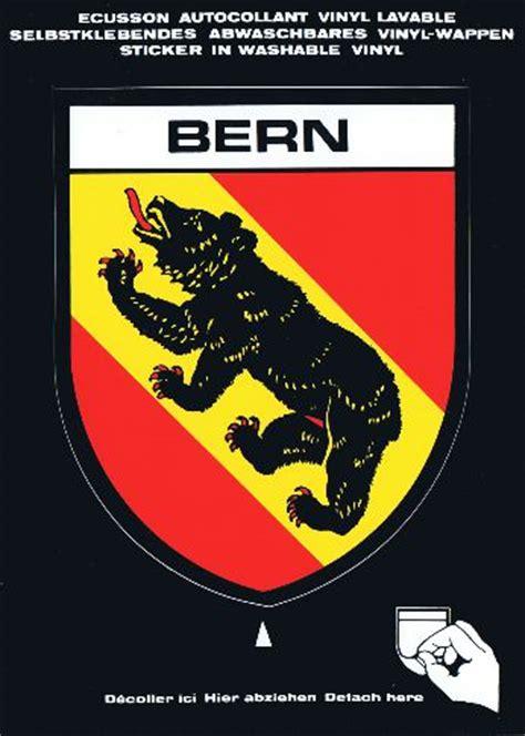 Sticker Drucken Bern by Bern Be Postkarten Sticker Mit Grossem Wappen