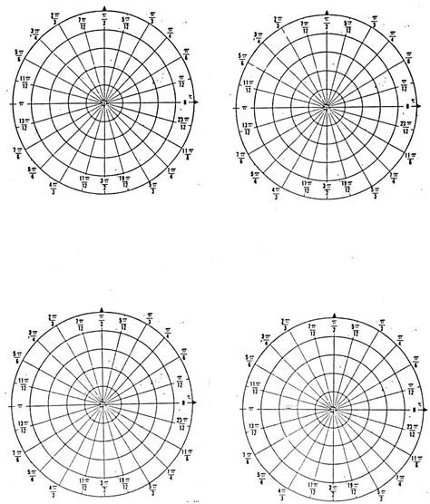 How To Make A Paper Polar - polar graph paper printable printable paper