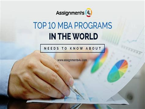 List Of Top Mba Programs In The World by Top 10 Mba Programs In The World Authorstream