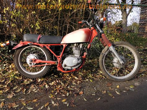 Motorrad Honda Xl 250 by Honda Xl 250 K Motorradteile Bielefeld De