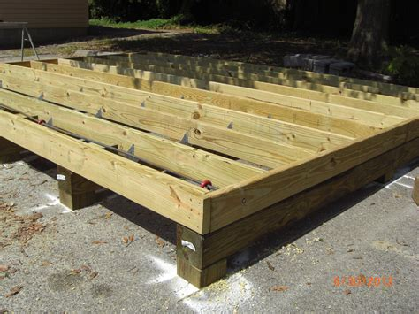 Shed Floor Joists by Church Of The Holy Family Clothing Shed Construction