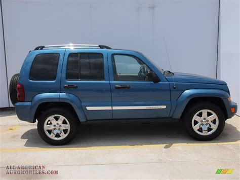 light blue jeep liberty 2006 jeep liberty limited in atlantic blue pearl 110854