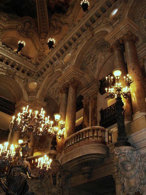 Interior Of Paris Opera House Architecture Pinterest