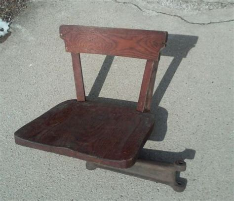 table with swing out stools vintage industrial cast iron swing out arm stool seat