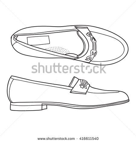 Circle Mocasin Zapato Suede loafer shoes stock images royalty free images vectors