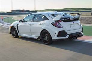 Honda Civic Type R Usa 2017 Honda Civic Type R Review Driving The Most Powerful