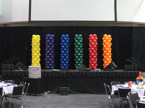 Stage Decoration For Corporate Events by Balloon Decor Of Central California Corporate Events