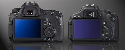 Lcd Canon 60d canon rebel t3i vs 60d who should buy the t3i light and matter