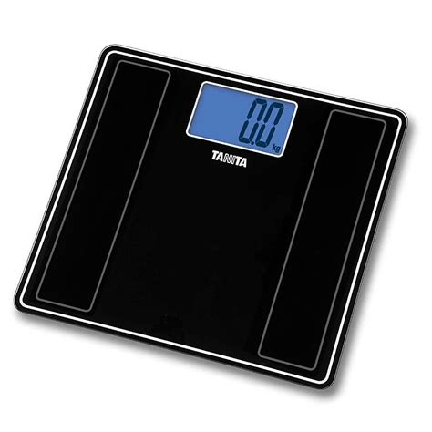 tanita bathroom scales tanita digital glass bathroom scale hd 382 metallic