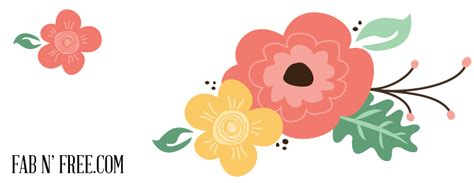 free flower clipart free vintage flower clip a preview fab n free