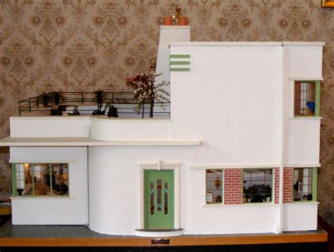 This Present House by An Deco Dolls House Made And Furnished By Artisans By