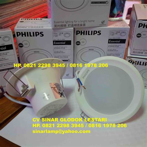 downlight led philips essential 5w