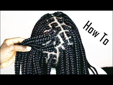 step by step to do jumbo senegalese how to do box braids like a pro only 1 hour youtube