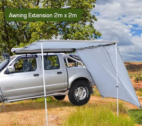 2m awning new 2m x 2m car awning extension sun shade camper trailer