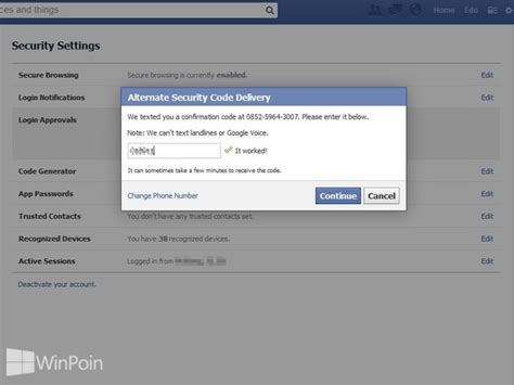 cara membuat akun facebook garis atas bawah cara mengamankan akun facebook dengan verifikasi ganda