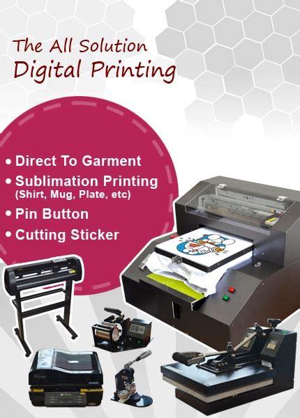Printer Dtg Indonesia Jakarta digital kaos autos post