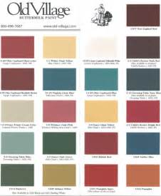 paint color chart paint colors