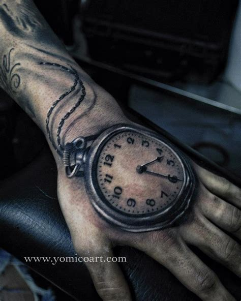 clock tattoos clock the wyrd