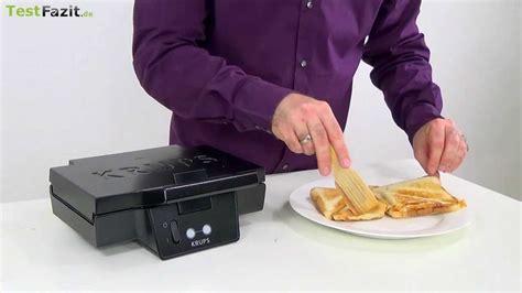 sandwichmaker stiftung warentest sandwich toaster test k 248 kkenredskaber