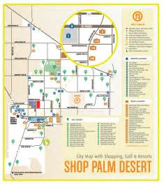 palm desert shopping map palm desert ca mappery