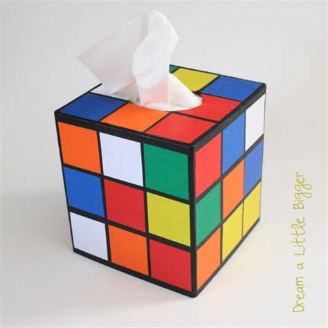 tutorial rubik square rubik s cube tissue box cover tutorial kitsch the big