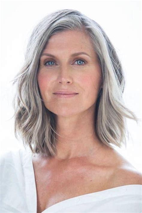 medium haircuts gray hair 46 best hairstyles images on grey hair hair cut and silver hair