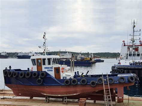tug boat propulsion types tugboat christos xxviii