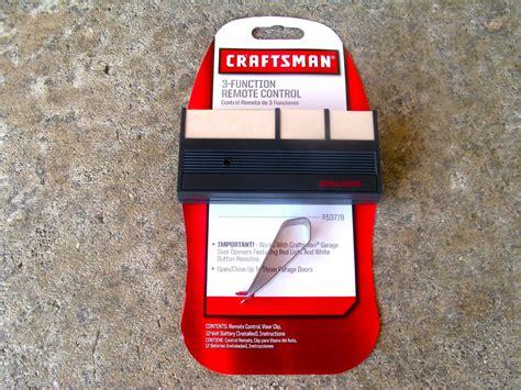 Craftsman Garage Door Opener Program Craftsman Sears Remote 139 53778 Garage Door Opener 53778 63lm 750cb 753cb Liftmaster