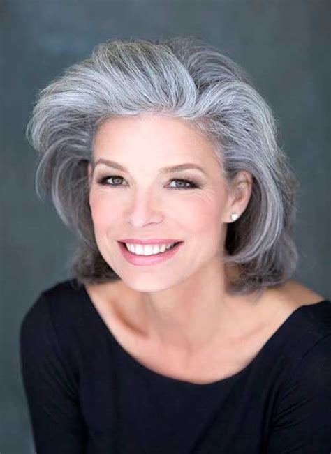 how to care for older thinning silver hair outstanding short hairstyles for older women short