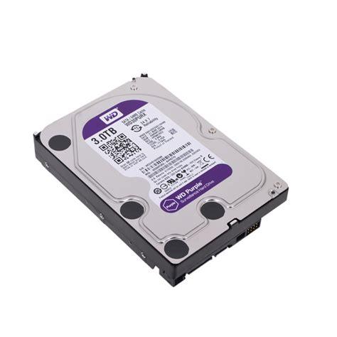 Dijamin Harddisk Wdc 3tb Sata 3 Purple Garansi Resmi 2 Tahun buy western digital 3tb 64mb 3 5 quot sata hdd 6gb s purple wd30purx itshop ae free shipping
