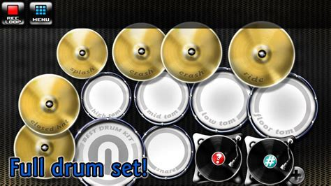 best drum pattern app best drum kit music percussion android apps on google play