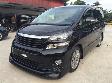 Toyota Auto Malaysia Career 2013 Toyota Vellfire For Sale In Malaysia For Rm238 000