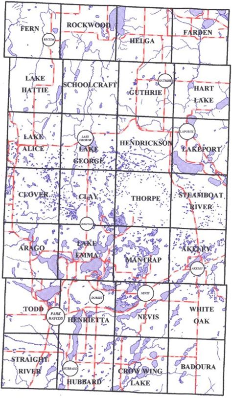 Will County Records Townshipmap