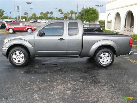 gray nissan 2007 storm gray nissan frontier se king cab 10787309