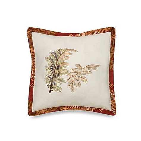 tommy bahama bed pillows buy tommy bahama orange cay square toss pillow from bed