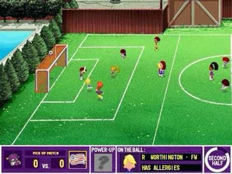 backyard soccer online backyard soccer mls edition gameplay youtube