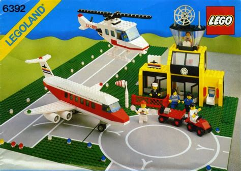 lego airport tutorial 6392 1 airport brickset lego set guide and database
