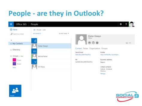 Office 365 Outlook Disconnected Ibm Connections Vs Office 365