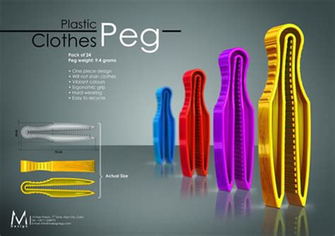 design clothes pegs clothes peg takes a detour from the normal form