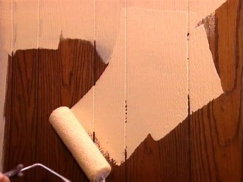 how to fix wood paneling how to paint over paneling