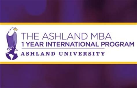 1 Year Mba Programs by Ashland Establishes One Year International Mba