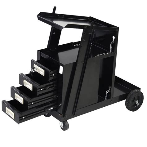 mig welding cart with drawers 4 drawer cabinet welding welder cart plasma cutter tank