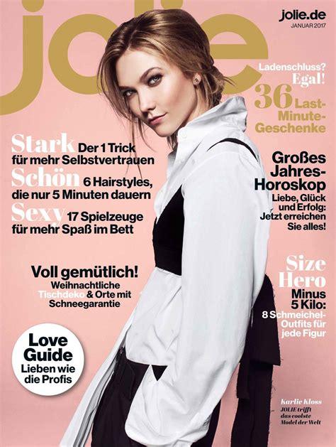 kosmetik le karlie kloss magazine germany issue 1 january 2017