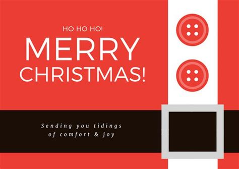 Merry Card Word Template by Customize 307 Card Templates Canva