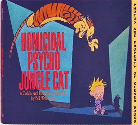 homicidal psycho jungle cat a calvin and hobbes collection homicidal psycho jungle cat a calvin and hobbes