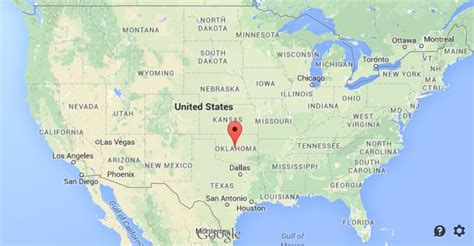 map usa oklahoma where is oklahoma city located on the map wisconsin map